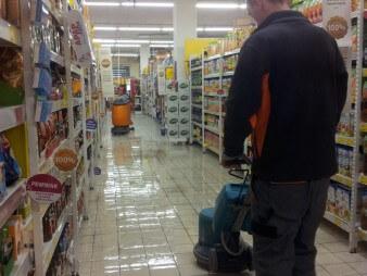Sprzątanie sklepów