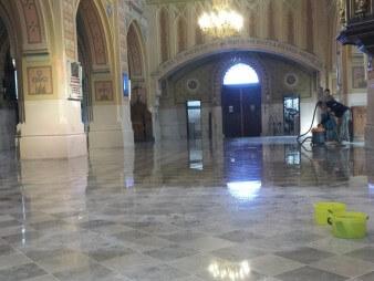 Sprzątanie kościoła
